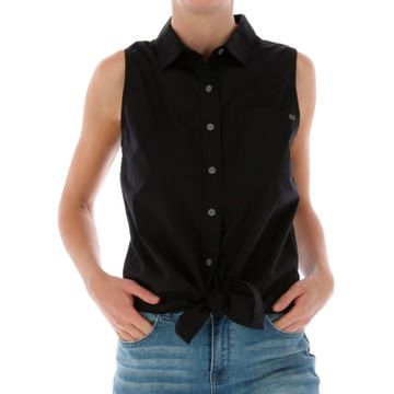 Blusa Mujer Tie Front Sleeveless