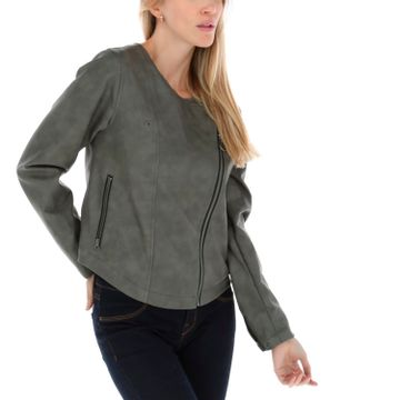 Chaqueta Mujer Washed Leather