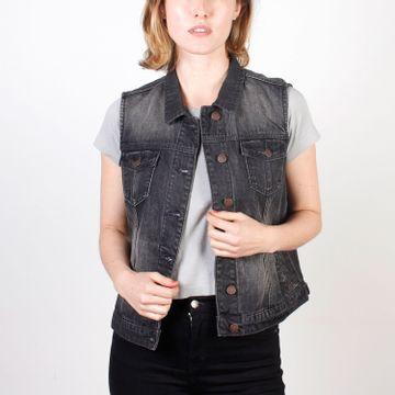 Chaqueta Mujer Belleview Denim Vest