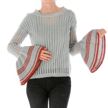 Sweater Mujer Bell Sleeve