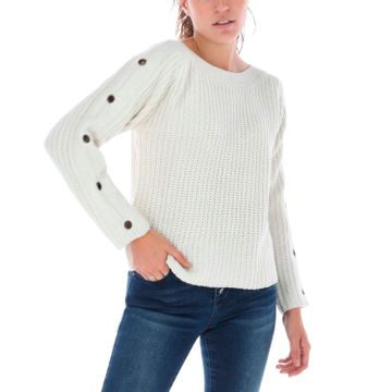 Sweater Mujer Grommet