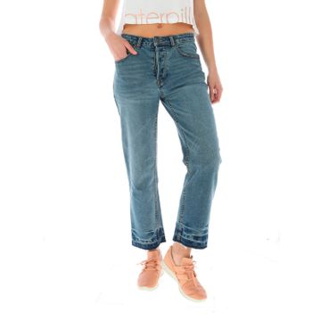 Jeans Mujer Kick Flare-Petite