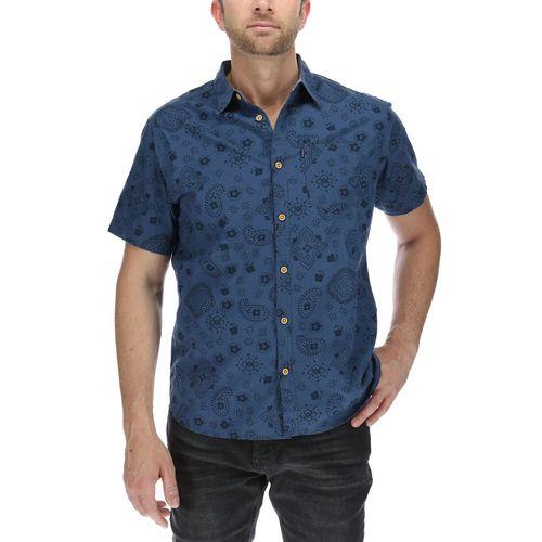 Camisa Hombre Bandana S/S