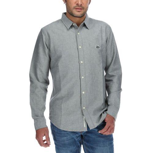 Camisa Hombre Minimal Oxford L/S