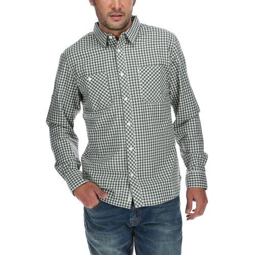 Camisa Hombre Utility Plaid L/S