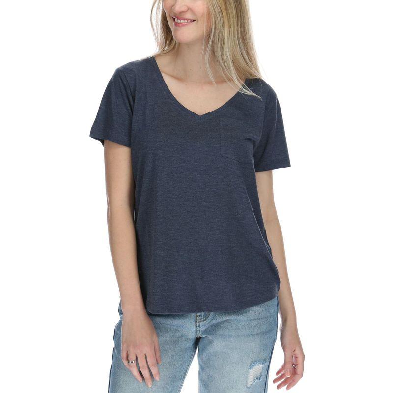 Polera-Mujer-V-Neck-Pocket