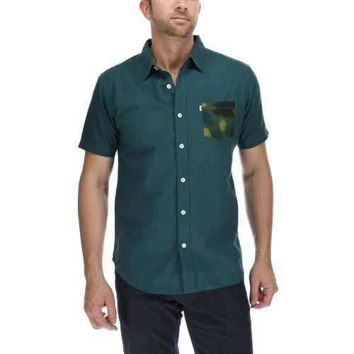 Camisa Hombre Camo Pocket S/S