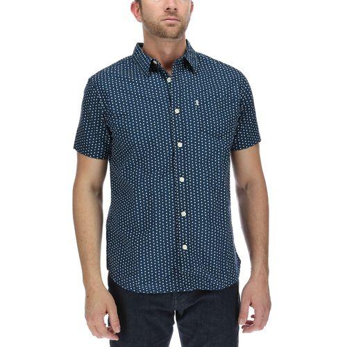 Camisa Hombre Ao Print Short Sleeve