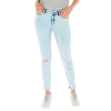 Jeans Mujer Distressed Jegging