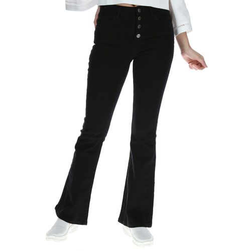 Jeans Mujer High Waist Flare