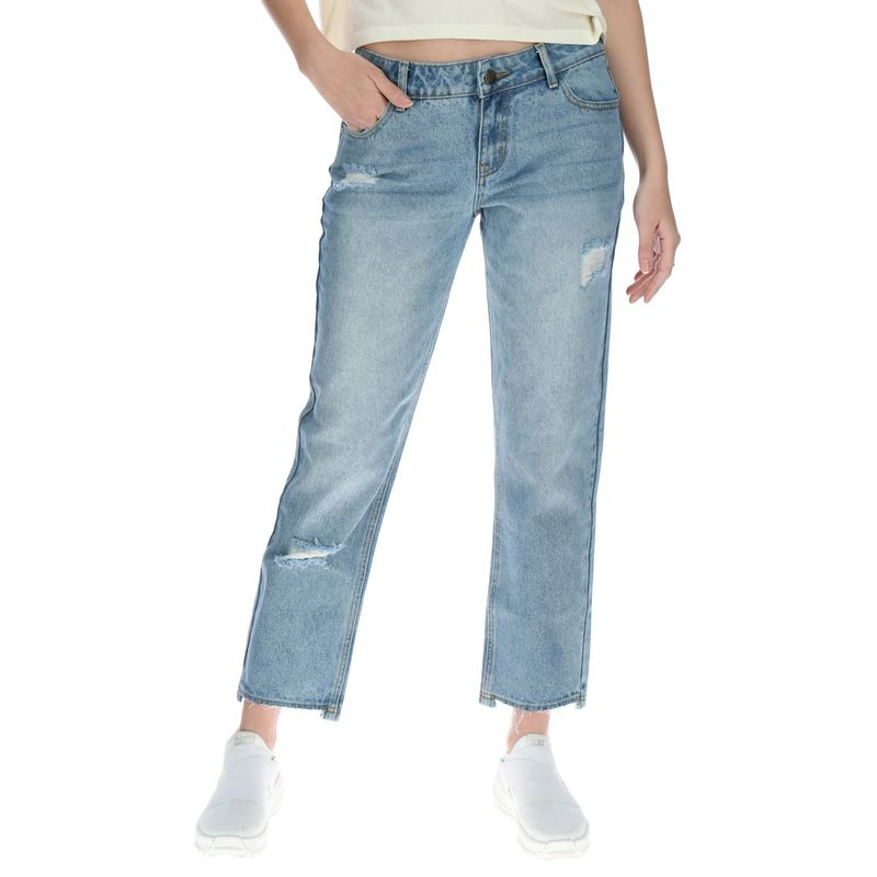 Jeans-Mujer-Distressed-Ankle-Cuf