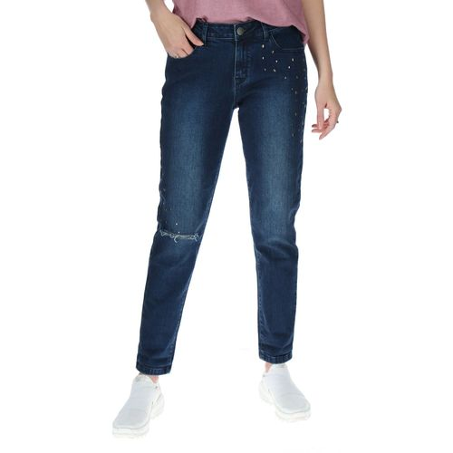 Jeans Mujer Studded Slim