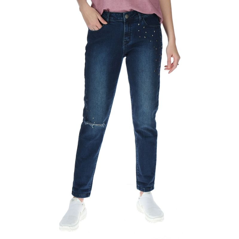 Jeans-Mujer-Studded-Slim