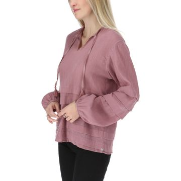 Blusa Mujer Pleated L/S