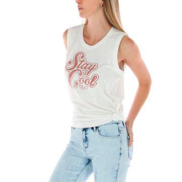 Polera Mujer Paige Knotted Tank