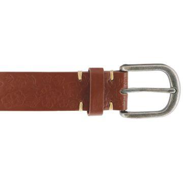 Cinturón Mujer Womens Nyos Embossed