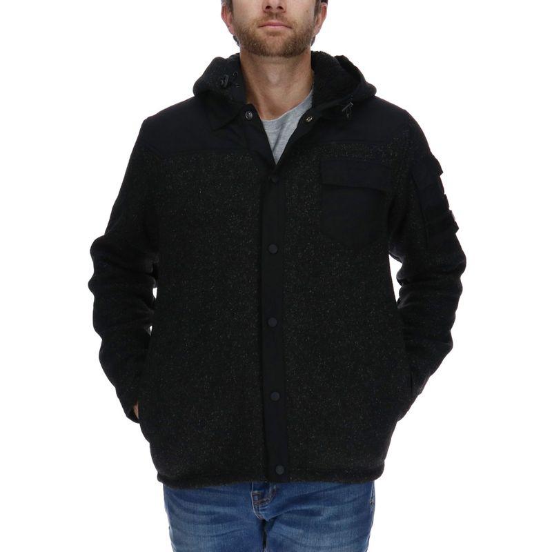 Polar-Hombre-Code-Fz-Hooded-Fleece