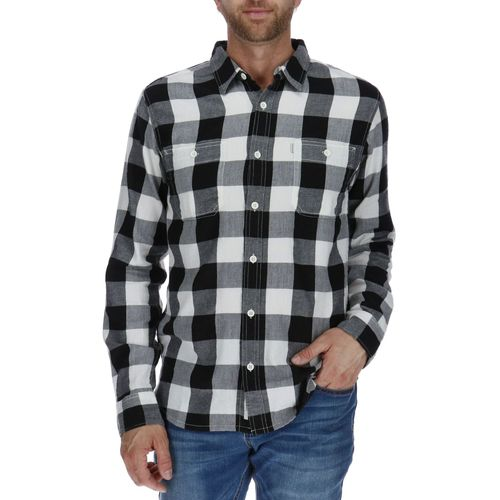 Camisa Manga Larga Hombre Flannel