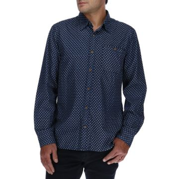 Camisa Manga Larga Hombre Foundation Denim