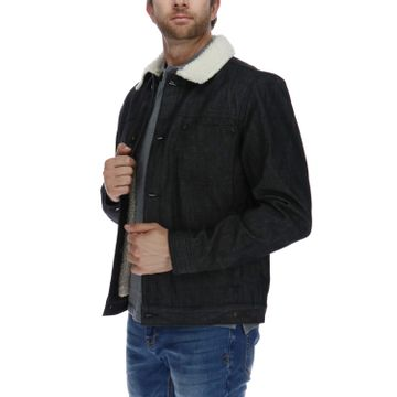 Chaqueta Hombre Foundation Denim Shearling