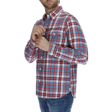Camisa Manga Larga Hombre Foundation Flannel