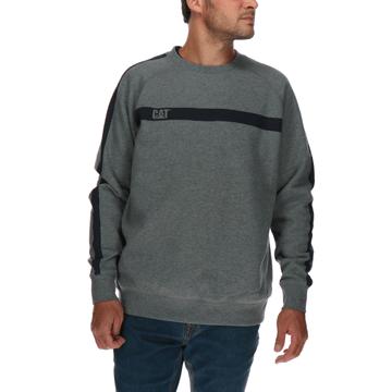 Sweater Hombre Icon Stripe Crew Neck