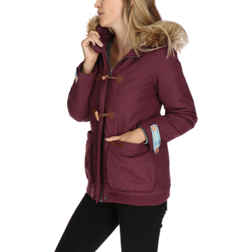 Chaqueta Mujer Emory Insulated Peacot