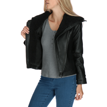 Chaqueta Mujer Hendley Faux Leather