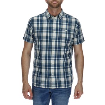 Camisa Manga Corta Hombre Foundation Large Plaid