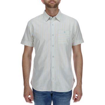 Camisa Manga Corta Hombre Foundation Switch Stripe