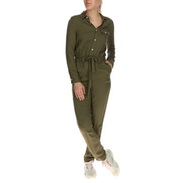 Jardinera Mujer Belted Jumpsuit