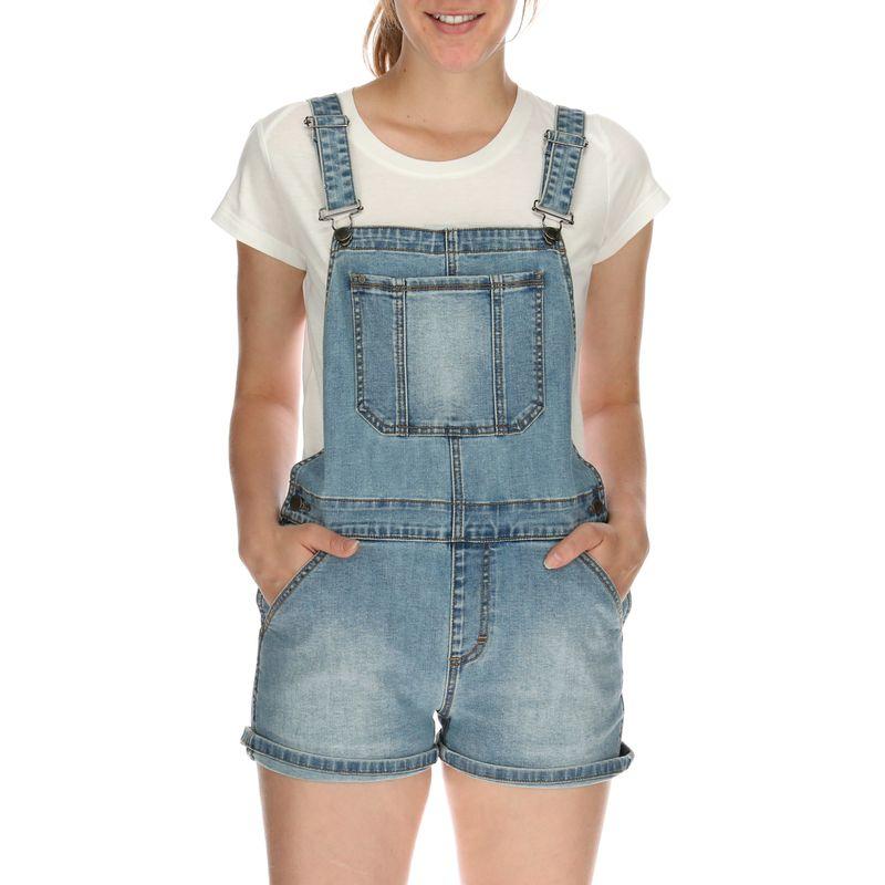 Jardinera-Mujer-Denim-Overall-Short