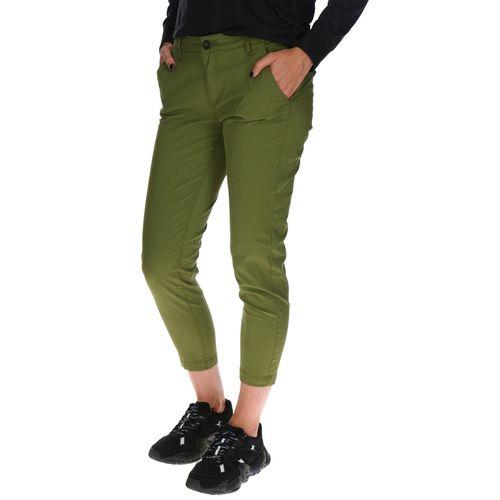 Pantalón Mujer Crop Chino