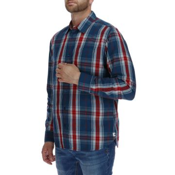 Camisa Hombre Foundation Watch Tartan