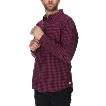 Camisa Manga Larga Hombre Foundation Gingham