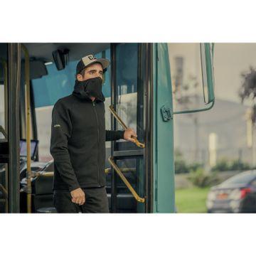 Polerón Hombre Flip Mask Hooded Sweatshirt