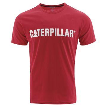 Polera Hombre Slim Fit Caterpillar Logo Tee