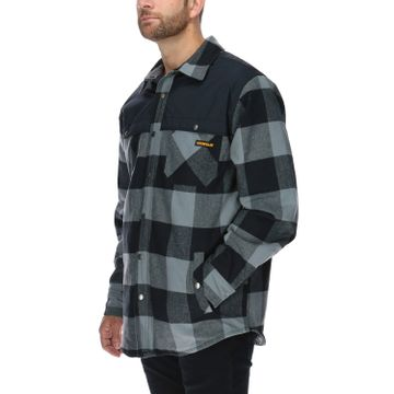 Chaqueta Hombre Block Insulated Shirt Jacket