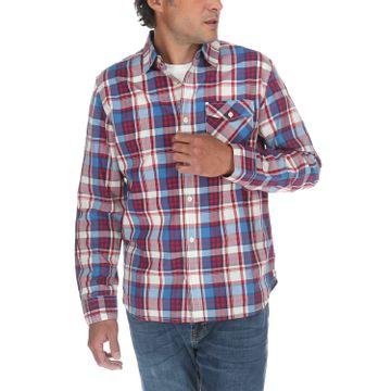 Camisa Hombre Foundation L/S Plaid Shirt