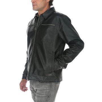 Chaqueta Hombre Foundation Faux Leather Jacket