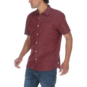 Camisa Manga Corta Hombre Fields S/S Slub Shirt