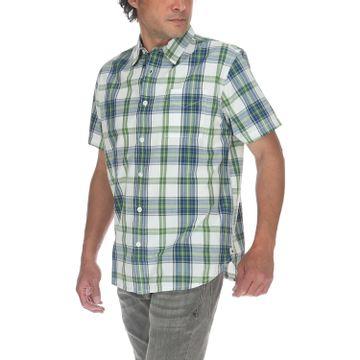 Camisa Manga Corta Hombre Foundation S/S Plaid Shirt