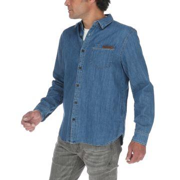 Camisa Hombre Foundation L/S Denim Shirt